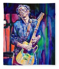 Telecaster- Keith Richards Fleece Blanket