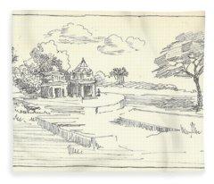 Temple Fleece Blanket