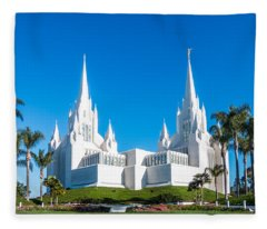 Temple Glow Fleece Blanket