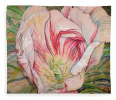 Tempting  Tulip Fleece Blanket