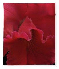 Tender Orchid Fleece Blanket