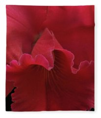 Tender Orchid Fleece Blanket
