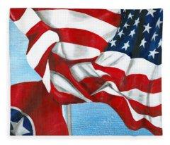 Tennessee Heroes Fleece Blanket