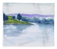 Tennessee River Fleece Blanket