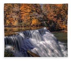 Tennessee Waterfall Fleece Blanket