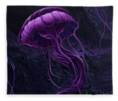 Tentacles Fleece Blanket