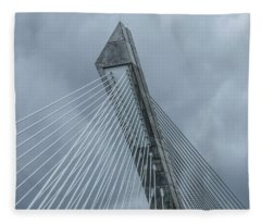 Terenez Bridge II Fleece Blanket