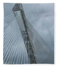 Terenez Bridge IIi Fleece Blanket