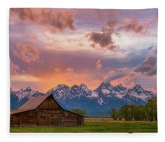 Teton Blaze Fleece Blanket
