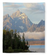 Teton Early Morning Fleece Blanket