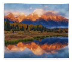 Teton Morning Fleece Blanket