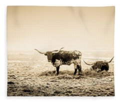 Texas Longhorns Fleece Blanket