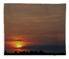 Texas Sunrise Fleece Blanket