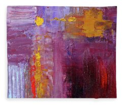 Textured Square No. 5 Fleece Blanket
