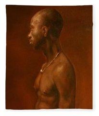 Vincent After Jacob Collins Fleece Blanket