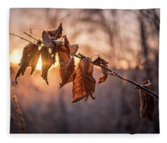 Thankful Blessing Fleece Blanket