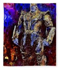 Thanos Fleece Blanket