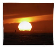 That Blazing Sun Fleece Blanket