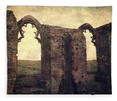 The Abbey Ruins Fleece Blanket