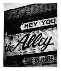The Alley Chicago Fleece Blanket