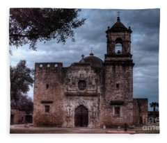 The Amazing Historic Mission San Jose San Antonio Texas Fleece Blanket
