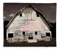 The American Farm Fleece Blanket