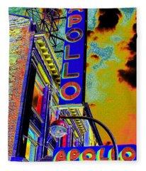 Apollo Theater Fleece Blankets