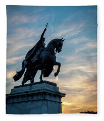 The Apotheosis Of St. Louis Fleece Blanket