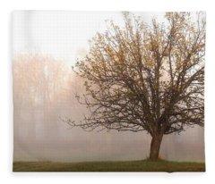 The Apple Tree Fleece Blanket