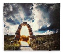 Portals Photographs Fleece Blankets
