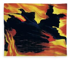 The Arrival Of The Wicked Fleece Blanket