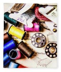 The Art Of Craft Fleece Blanket