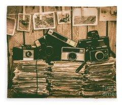 The Art Of Film Photography Fleece Blanket