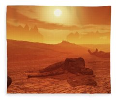 The Ash Vessels Fleece Blanket