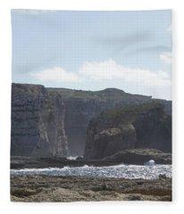 Fungus Rock Fleece Blanket