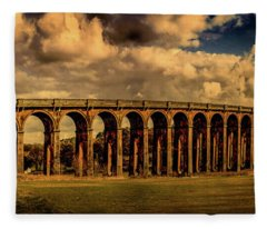 The Balcombe Viaduct Fleece Blanket