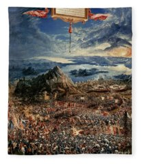 The Battle Of Issus Fleece Blanket