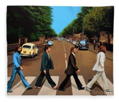 The Beatles Abbey Road Fleece Blanket