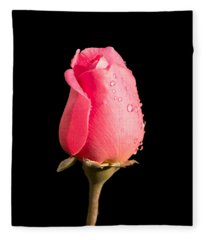The Beauty Of A Rose Fleece Blanket