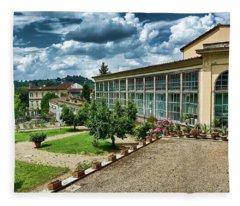 The Beauty Of The Boboli Gardens Fleece Blanket