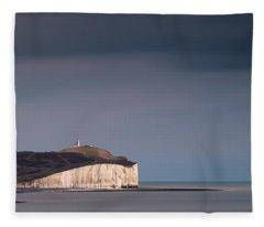 The Belle Tout Lighthouse Fleece Blanket