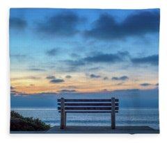 The Bench Vi Fleece Blanket
