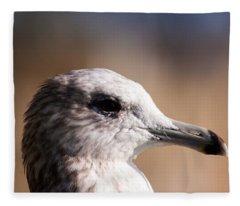 The Best Side Of The Gull Fleece Blanket