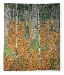 The Birch Wood Fleece Blanket