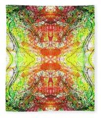 The Birth Of Consciousness #1427 Fleece Blanket