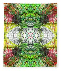 The Birth Of Consciousness #1432 Fleece Blanket