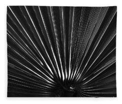 The Black Fan Fleece Blanket