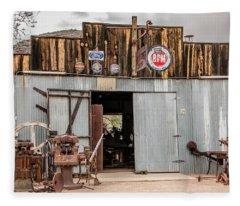 The Blacksmith Shop Fleece Blanket