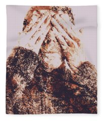 The Bliss Of Ignorance Fleece Blanket