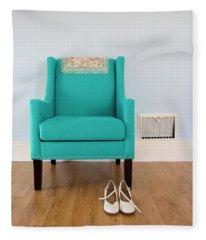 The Blue Chair Fleece Blanket